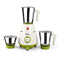 Cello  Grind N Mix 800- 3 Jar Mixer Grinder, 500W Green