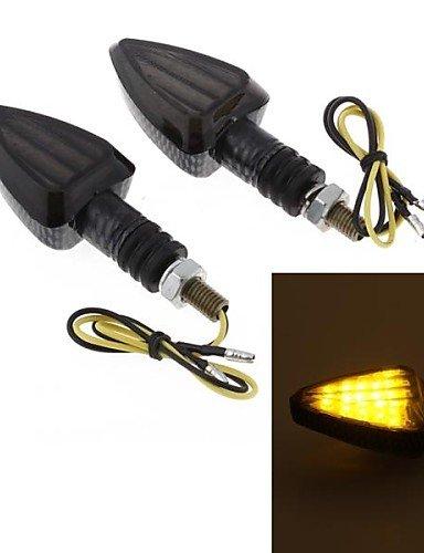 dbrgr-2pcs-moto-giallo-15-led-girano-lente-fumo-lampadina-lampeggiante-segnale-dc12v-8-millimetri-si