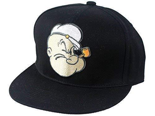 Imagen de oficial looney tunes snapback , popeye flat peak de béisbol hombre mujer gorros, hip hop