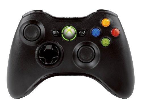 Ouguan Kabelloser Controller für Microsoft Xbox 360 PC Windows 7 X Wireless Black