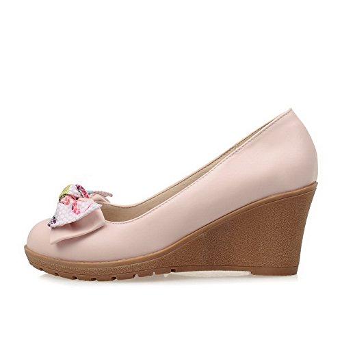 Balamasa - Sandalias De Cuña Rosa Para Mujer