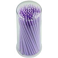 Internet 100pcs extensión de la pestaña Micro Cepillos (Púrpura)
