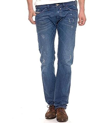 Brand New Diesel Safado 801C Mens Jeans, 0801C, Regular Slim Straight Leg (28 x 32)