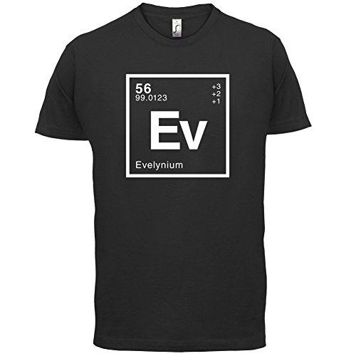 Evelyn Periodensystem - Herren T-Shirt - 13 Farben Schwarz
