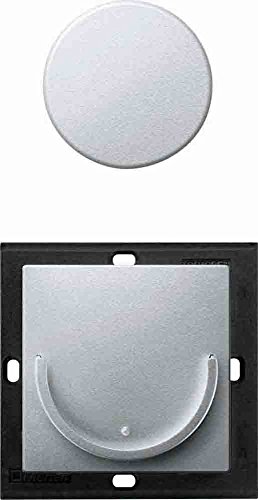 Merten 508060 Funk-Taster Connect Move Thermoplast edelmatt aluminium System M