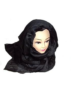 kaufen 3Get 1Gratis Fashion Damen Lang Glänzende Uni Viskose Schal/Schal/Hijab/Wrap