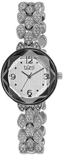 41LgOzOkteL - Burgi Silver Women BUR124SS watch