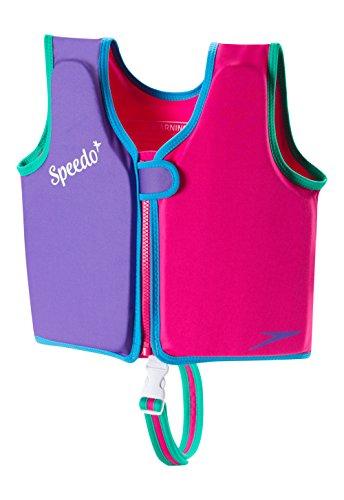 Speedo Kids 'UPF 50+ beginnen zu schwimmen Classic Schwimmen Weste, unisex, Classic Swim Vest, Berry/Grape