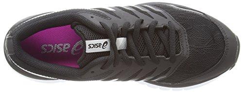 Asics - Gel-zaraca 4, Scarpe da corsa Donna Nero (Black/White/Silver 9001)