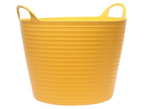 Faithfull Polyethylene Flex Tub 42L Yellow Test