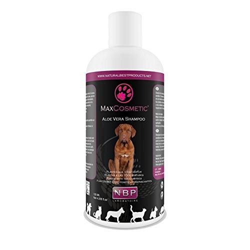 Max Cosmetic Aloe Vera Shampoo für Hunde & Katzen 200ml Hundeshampoo Katzenshampoo