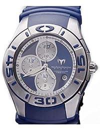 TechnoMarine Reloj de Hombre Cuarzo Correa de Goma Caja de Acero TMREEF01 105af63fb32b