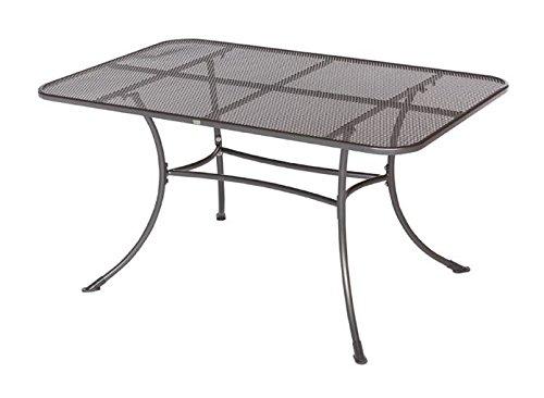 Gartentisch Metalltisch Tisch Gartenmöbel Esstisch Metall 145x90 cm