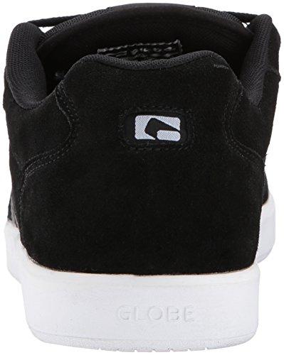 Globe Herren Octave Skateboardschuhe, Schwarz / Weiß