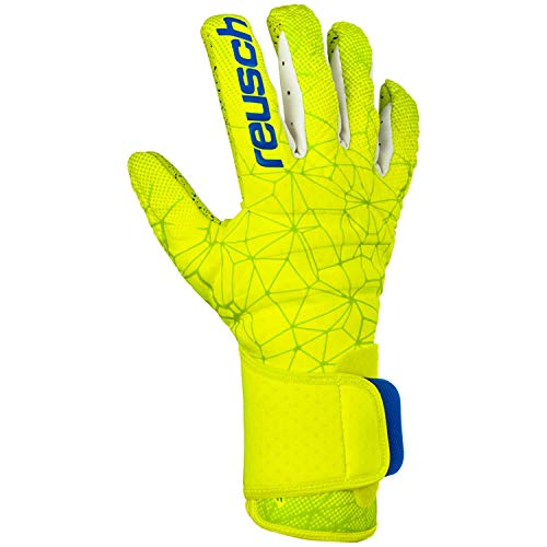 Reusch Herren Torwarthandschuhe Pure Contact II G3 Fusion 3970900 Lime/Safety Yellow/Lime 8.5
