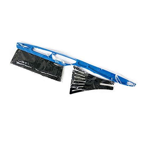 AOTNZ Raschiaghiaccio E Spazzola da Neve 2In1 Detergente per Parabrezza per Auto Rimozione della Neve E Strumento Antigelo,Blu