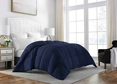 Sleep Wiederherstellung Down Alternative Tröster-Beste Hotel Qualität Hypoallergen Bettwäsche Einsatz, navy, Full/Queen -