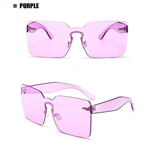 SYQA Sonnenbrille Neue Ankunft Frauen Luxusmarke Platz Klare Sonnenbrille Damenmode Männer Uv400 Brillen Sonnenbrille Sommer Brille,C6