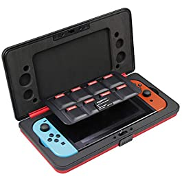 AmazonBasics – Custodia rigida per Nintendo Switch, Rosso