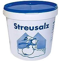 Hamann Streusalz Eimer 10 kg - Deutsches Steinsalz leicht streubar & hoher Anteil tauwirksamer Substanzen