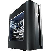 BitFenix BFC-PAN-600-KKWN1-RP Midi-Tower Negro carcasa de ordenador - Caja de ordenador (Midi-Tower, PC, Acrilonitrilo butadieno estireno (ABS), Acero, ATX,Micro-ATX,Mini-ITX, Negro, 44 cm)
