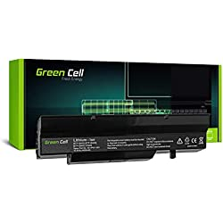 Green Cell® BTP-B4K8 BTP-B7K8 Batterie pour Fujitsu-Siemens Esprimo V5505 V5545 V6505 V6535 V6545 Amilo Pro V3505 V3525 Li1718 Li1720 Li2727 Li2735 Ordinateur PC Portable (4400mAh)
