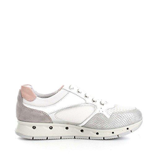 Igi&Co 7762600 Sneakers Donna Bianco/Argento