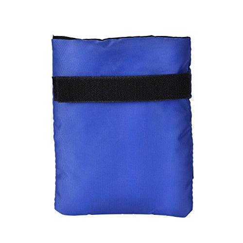 Outus Housse de Protection Thermique pour Robinet de Jardin Résiste au Gel et au Froid, 7,1 Pouces par 5,9 Pouces, Bleu