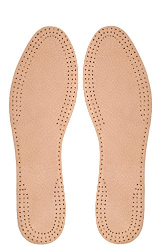 Solette in pelle per scarpe o stivali da uomo e da donna, ideali per