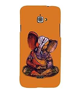 Fiobs Designer Phone Back Case Cover InFocus M350 ( Hindu God Ganesh Lord Ganesh Logo Symbol )