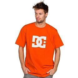 DC Shoes Herren T-Shirt Star Short Sleeve Logo XL Blazing Yellow/Olympian b