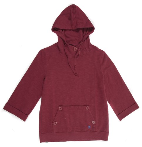 DC Shoes Damen Fleece Belinda Novelty Pullover Hoodie, BIKNG RED, L, D063460051