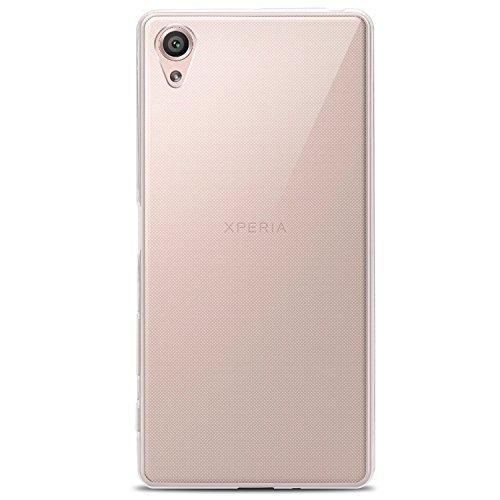 Sony Xperia X Hülle, Bingsale Transparent Schutzhülle Ultra Slim Silikon Crystal Clear Tasche Cover für Sony Xperia X (Sony Xperia X)