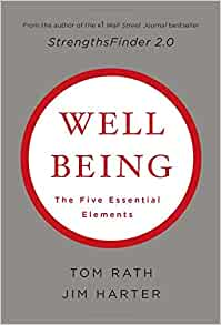 Wellbeing. The Five Essential Elements Book Cover