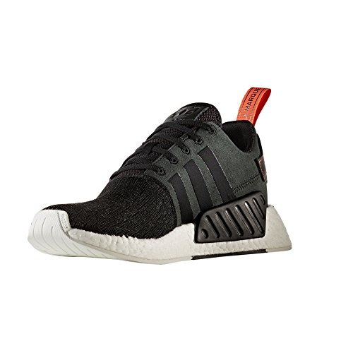 adidas Originals NMD_R2 Sneaker Boost Technologie Sneaker. Chaussures Homme. CG3384, BY9314, BY9915, BY9315 Negra/Cosfut