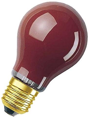 Osram Light Bulb, Red, E27, 11