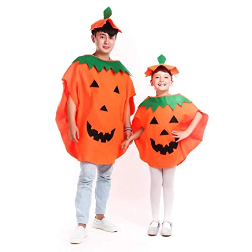 iMucci Halloween Pumpkin Costume Cosplay Party Evening Dress Trick or Treat Costume Accessory