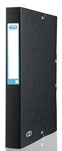 Elba Eurofolio 100200430 - Contenitore per documenti (set di 10), nero