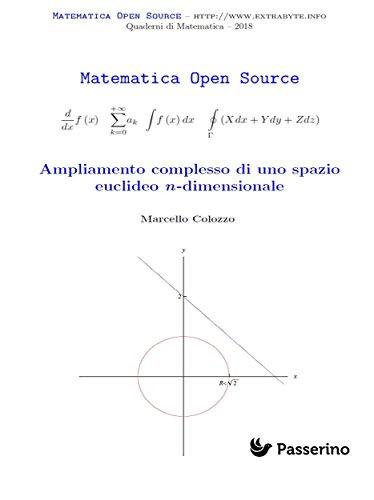 Como Descargar Un Libro Ampliamento complesso di uno spazio euclideo n-dimensionale De Gratis Epub