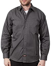 Camisa de trabajo Jesse James Heavy Duty Gris Carbon