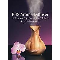 Aroma Diffuser Duftlampe Luftbefeuchter 400ml inkl. 2 aromatisierte reine hochwertige Duftöle preisvergleich bei billige-tabletten.eu