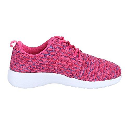 Ital-Design , Baskets pour femme Rose - rose