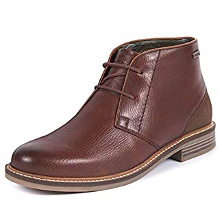 Mens Barbour Readhead Work Office Smart Casual Lace Up Flat Chukka Boots