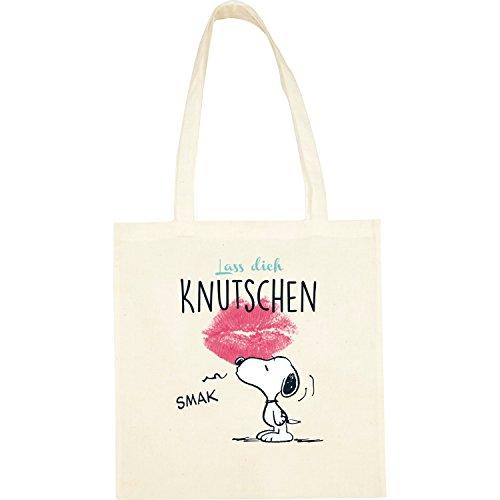 Peanuts Snoopy Collection - Stoffbeutel Lass Dich Knutschen, 38 x 41 cm