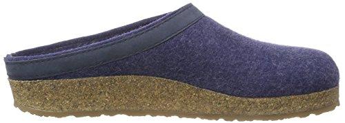 Haflinger Torben Unisex-Erwachsene Pantoffeln Blau (Jeans 72)