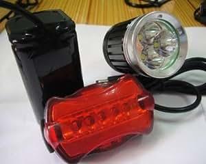 4000 Lumens 3x CREE XM -L T6 LED de vélos vélo phare de lumière frontale Lampe 25W