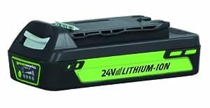 Batterie 24V 2Ah Lithium-Ion Greenworks Tools