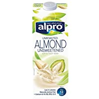 Alpro Drink Almond Unsweetened Unroasted - 1 liter