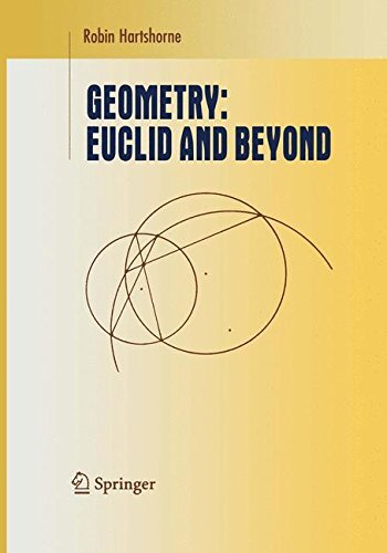Geometry: Euclid and Beyond (Undergraduate Texts in Mathematics) by Robin Hartshorne (2010-12-15)