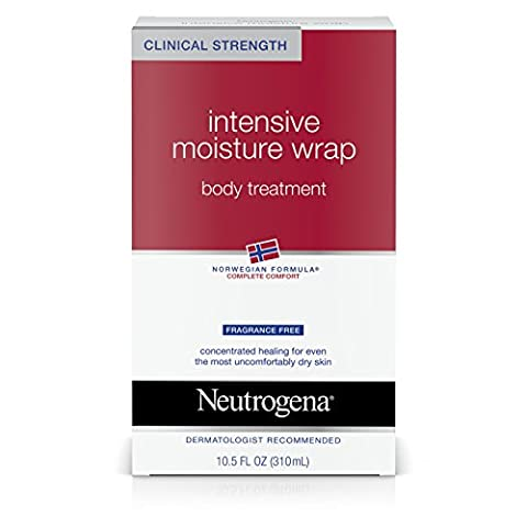 Neutrogena Intense Moisture Wrap Body Treatment Fragrance Free - 10.5 oz
